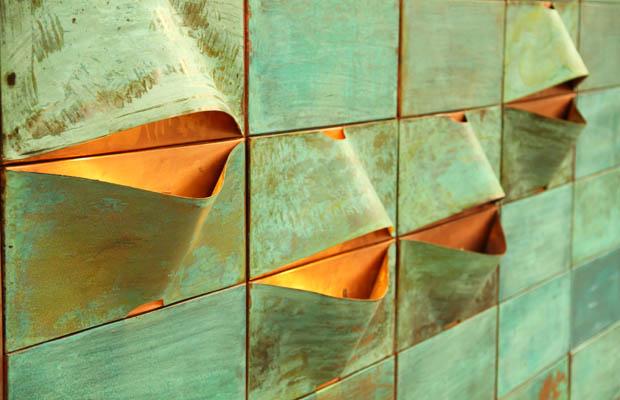 Lum: luminaria hecha en cobre