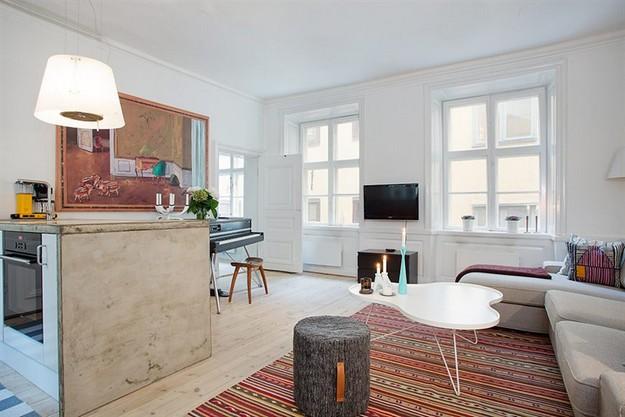 Departamento remodelado en Estocolmo